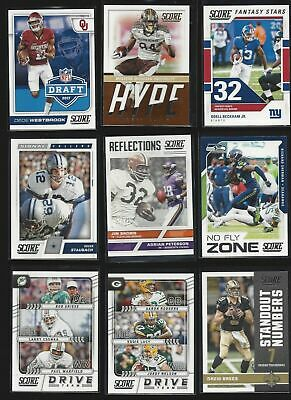 2017 PANINI SCORE INSERTS (ROOKIE RC's, STARS, HOF) ALL LISTED- WHO DO YOU NEED!