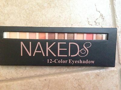 Nude Eyeshadow Palette 12 Color Naked Shimmer Glitter Pigment Waterproof Natural