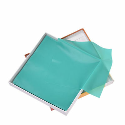 "1 Kit Dental Rubber Dam Sheet Pure Latex Dura Dam 52 Pcs 5""*5"" Green Small Size"