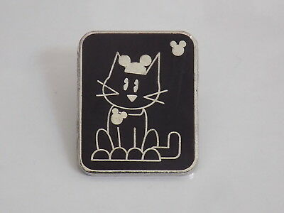 Disney Pin Trading~ WDW Hidden Mickey Series III Cat With Mouse Ears Pin
