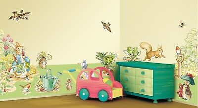 Beatrix Potter Bunny Wall Mural Stickers