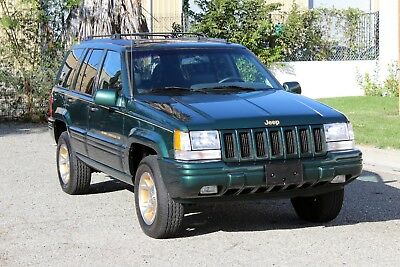 """1998 Jeep Grand Cherokee Free Shipping to 48 US States W/""""Buy-It-Now"""" California Original, 1998 Jeep Grand Cherokee Limited, One Owner, 100% Rust Free"""