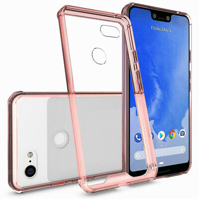 For Google Pixel 3 / 3 XL Thin Hybrid Bumper Shockproof Clear Rugged Case Cover