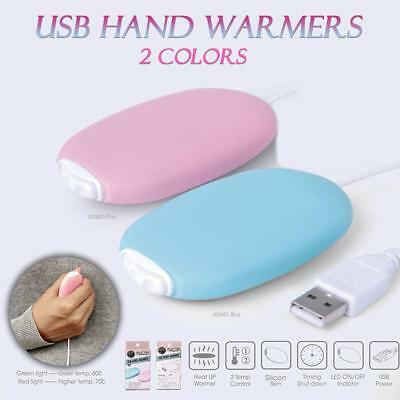 Reusable Electric Hand Warmer USB Rechargeable Pocket Winter Warm Portable