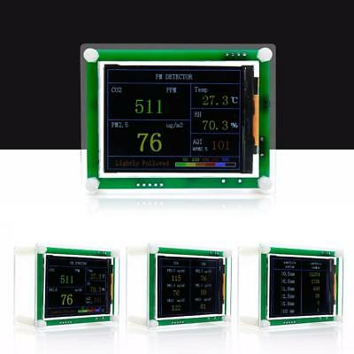 """2.8"""" LCD Carbon Dioxide CO2 + PM1.0 PM2.5 PM10 Tester+Temperature Humidity SY ~"""