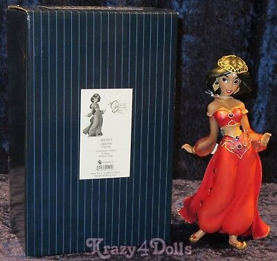 Disney Showcase Couture De Force Figurine Red Jasmine 25th Anniversary Aladdin!
