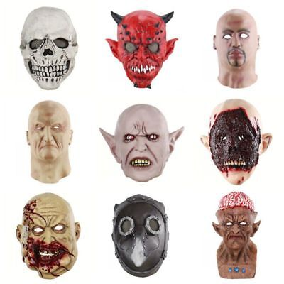 Horror Scary Latex Maske Party Cosplay Vollkopf Maskerade Kostüm Halloween Decor