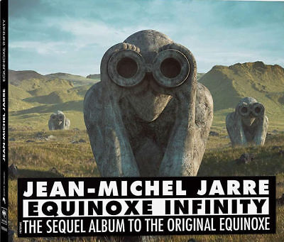JEAN MICHEL JARRE Equinoxe Infinity CD NEW & SEALED 2018