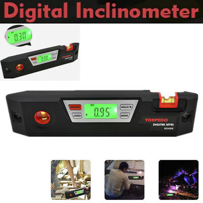 Electronic Digital Level Angle Gauge Finder Level Inclinometer 3 in 1 Tool