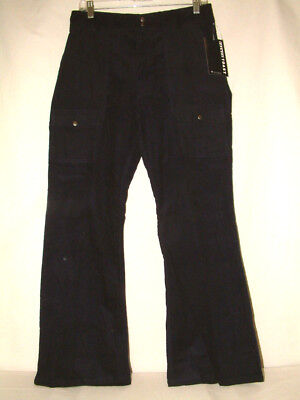 #4204 Corduroy Cargo Pants From French Toast, Navy, Size 18, Side Pockets, New!