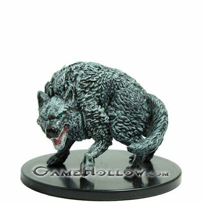 D&D Miniatures Storm Kings Thunder WINTER WOLF #25