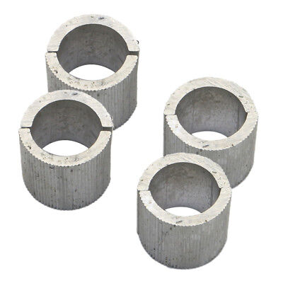 16x 22mm to 25mm Hanldebar Handle Bar Spacer Conversion Shim for Motorcycle