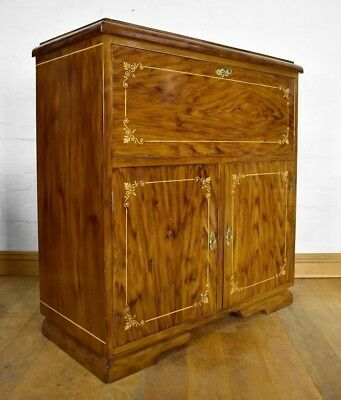 antique style bureau - writing desk - secretaire