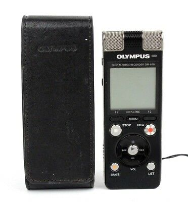 Olympus DM-670 Digital Voice Recorder **FREE UK P&P**