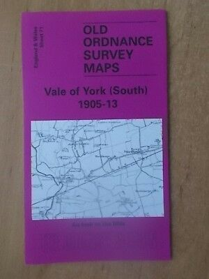 Old Ordnance Survey Maps One Inch Sheet 71 Vale Of York South 1913