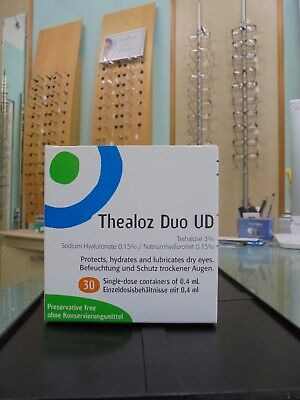 Thealoz Duo UD Eye Drops for Dry Eye (30 x 0.4ml)