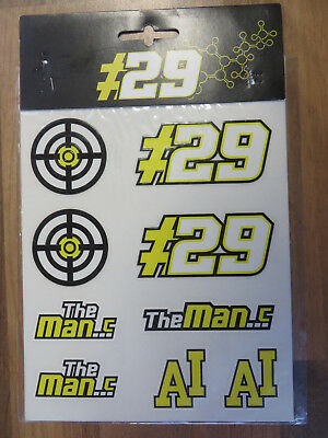 AI29 Andrea Iannone Sticker Kit The Maniac Aufkleber Set MotoGP Suzuki Ecstar 29