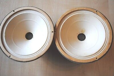 """Pair of Philips ??? alnico magnet A221 vintage speakers 6"""""""