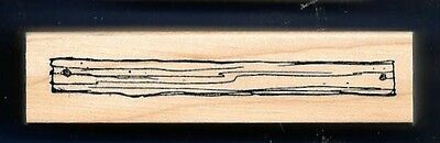 WOOD PLANK BOARD Floor Construction E1514 New ART IMPRESSIONS CRAFT RUBBER STAMP