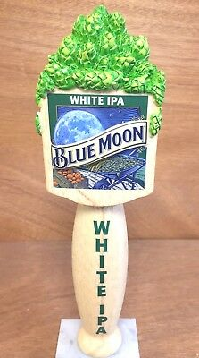 Blue Moon Brewing Co Belgian White IPA Beer Tap Handle - New & Free Ship - 10""