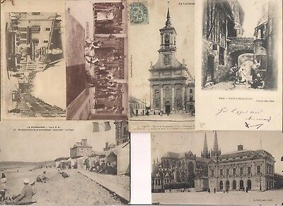1 Lot de 120 CPA - Destockage - Voir description / Antique Postcards.