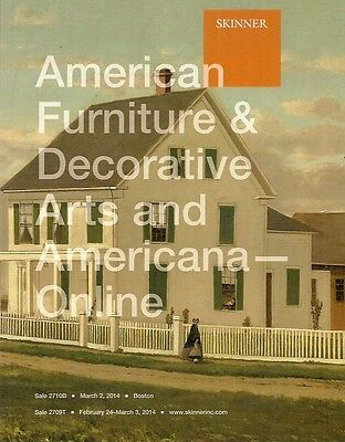 Skinner American Furnitrue Folk Art Americana Post Auction Catalog March 2014