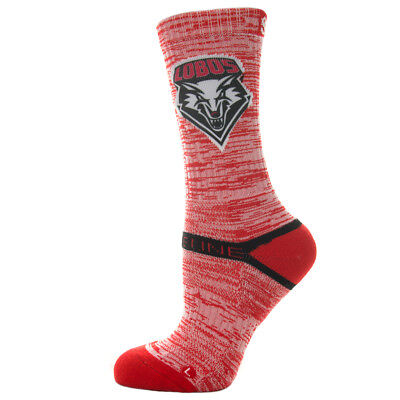 Strideline Athletic Socks New Mexico State Red Heather 5200411 Strapped Men's