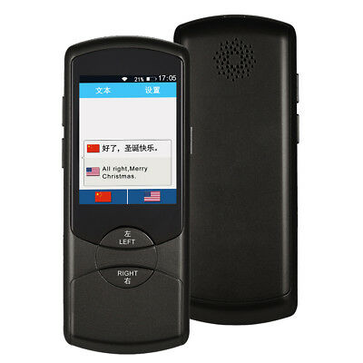 2.8 Inch Portable Touchscreen Intelligent Real-time Voice Translator N8J9