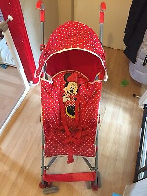 Minnie Mouse Pushchair