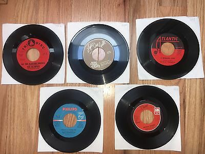 GREAT DEAL (100) 45 Records *1950's-1990's *Each Lot worth $700+ EBAY SOLD PRICE