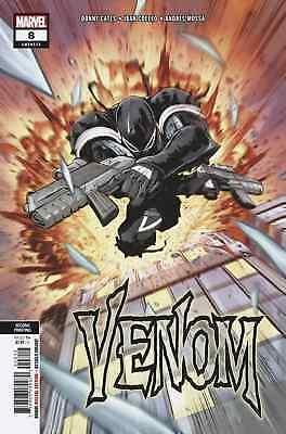 VENOM 8 2018 2nd PRINT VARIANT NM