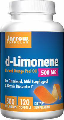 Jarrow Formulas - D-Limonene, Protects the Esophagus, 1000 mg, 120 Softgels