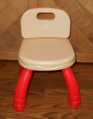 Crayola Creativity Drawing Desk Child Replacement Chair Brown Seat Red Legs