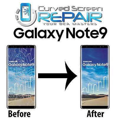 Samsung Galaxy Note 9 Cracked Screen Repair Glass Mail In Service