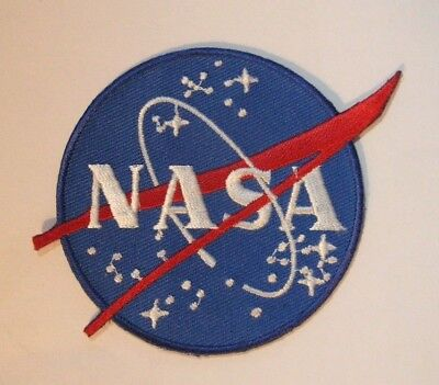 """NASA US Space Agency Logo Embroidered 3"""" Patch NEW - US Seller"""