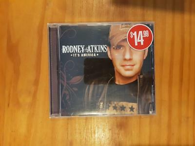 RODNEY ATKINS It's America CD Good Used Condition FREEPOST IN AUSTRALIA
