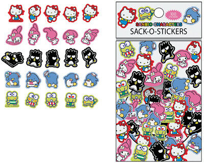 Hello Kitty Mix Characters Sack-O-Stickers - Sanrio