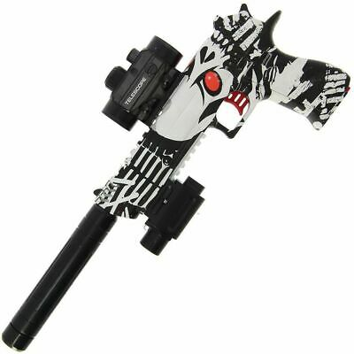 Automatic USB Kids Rapid Fire GEL SOFT Water Crystal Bullet Toy Gun Yellow 2019