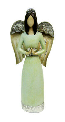 Primitive Praying Angel Figurine Indoor Home Decor and Accents