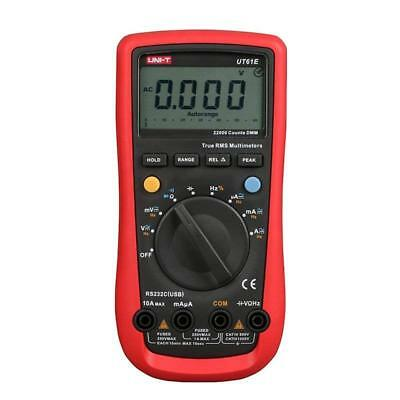 UNI-T UT61E AC/DC Modern Digital Auto Ranging Multimeters Backlight & Data Hold