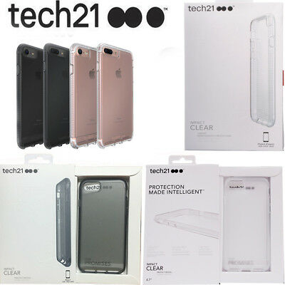 Tech21 Impact Clear Case For iPhone 6/6s&6 plus/6s Plus iPhone 7/8&7 Plus/8 Plus