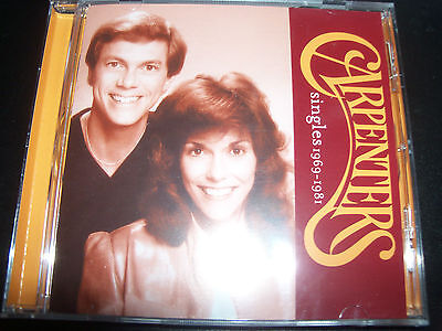 The Carpenters Singles 1969 - 1981 Very Best Of Greatest Hits (Australia) CD NEW