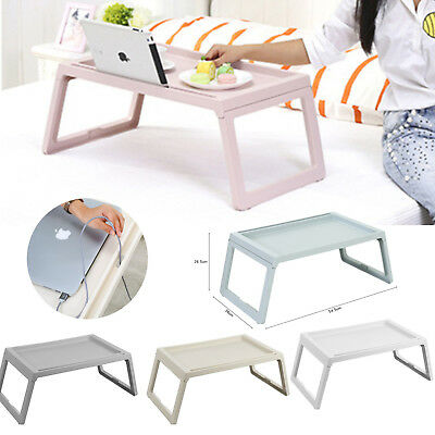 Small Portable Folding Table Picnic Camping Dining Desk Sofa Bed TV Stand Tray