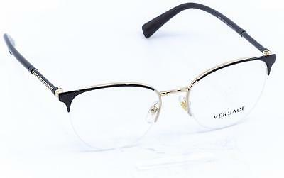 VERSACE Women's VE1247 Cat-Eye Eyeglass Frames