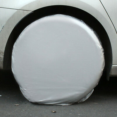 2pcs Wheel Tire Covers Storage For RV Trailer Camper Car Truck Motor Home