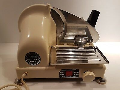 Quick Mill Affettatrice Bianca Bellissima Omre Anni 70 Vintage