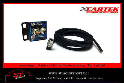Cartek Battery Isolator XR Unit Only With Connection Cable - Motorsport/Rally