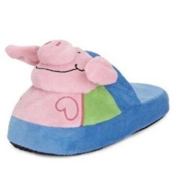 Boy's Slipper New Marks & Spencer Kids Percy Pig Stompeez Official Size 7-9 (24-