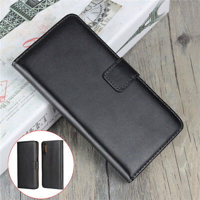 For Samsung A9 A8 A7 A6 Plus 2018 Case Luxury Genuine Leather Wallet Flip Cover