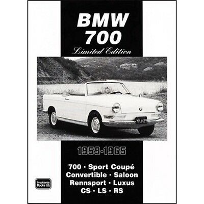 BMW 700 Limited Edition Extra 1959-1965 book paper